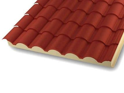Hiansa l der en chapas perfiladas y panel sandwich para for Chapas para tejados bricodepot